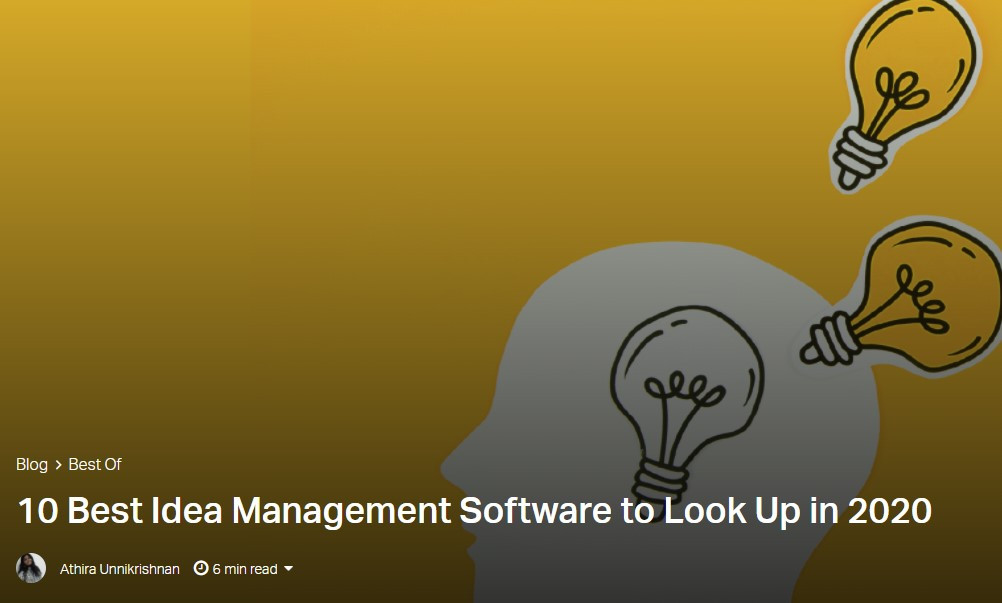Best Idea Management Software