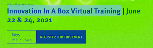 Innovation In A Box Virtual Training