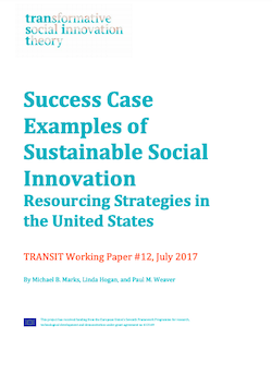 Success Case Examples of Sustainable Social Innovation