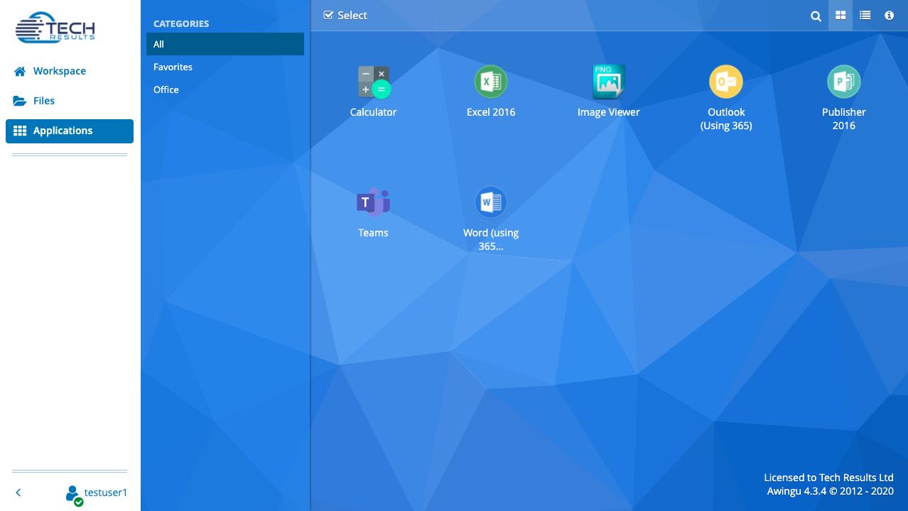 TR Cloud Desktop