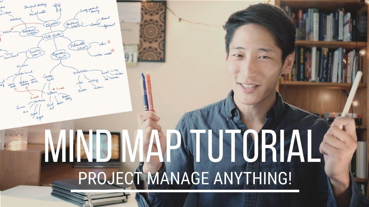 Mind Map Tutorial My Secret for Project Management
