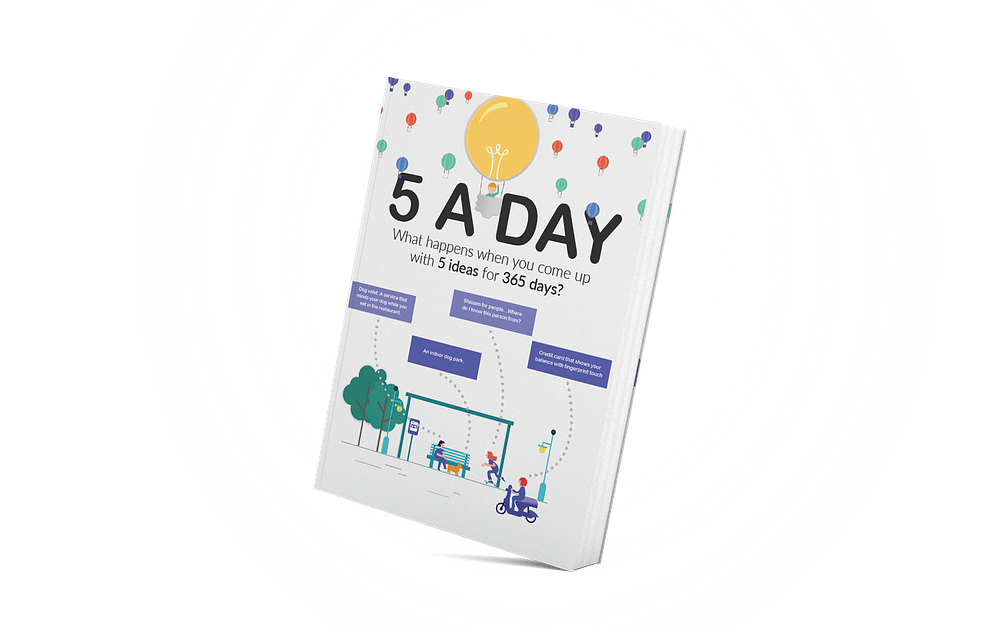 5 Ideas A Day eBook