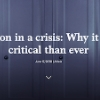 Innovation in a crisis: Why it is more critical than ever