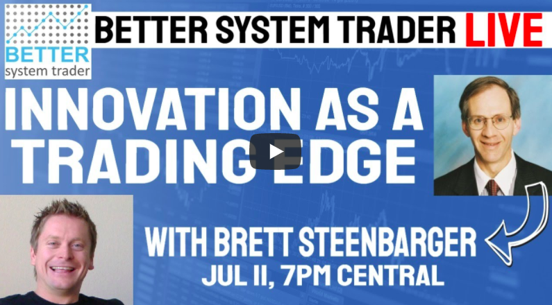"""""""Innovation as a trading edge'"""