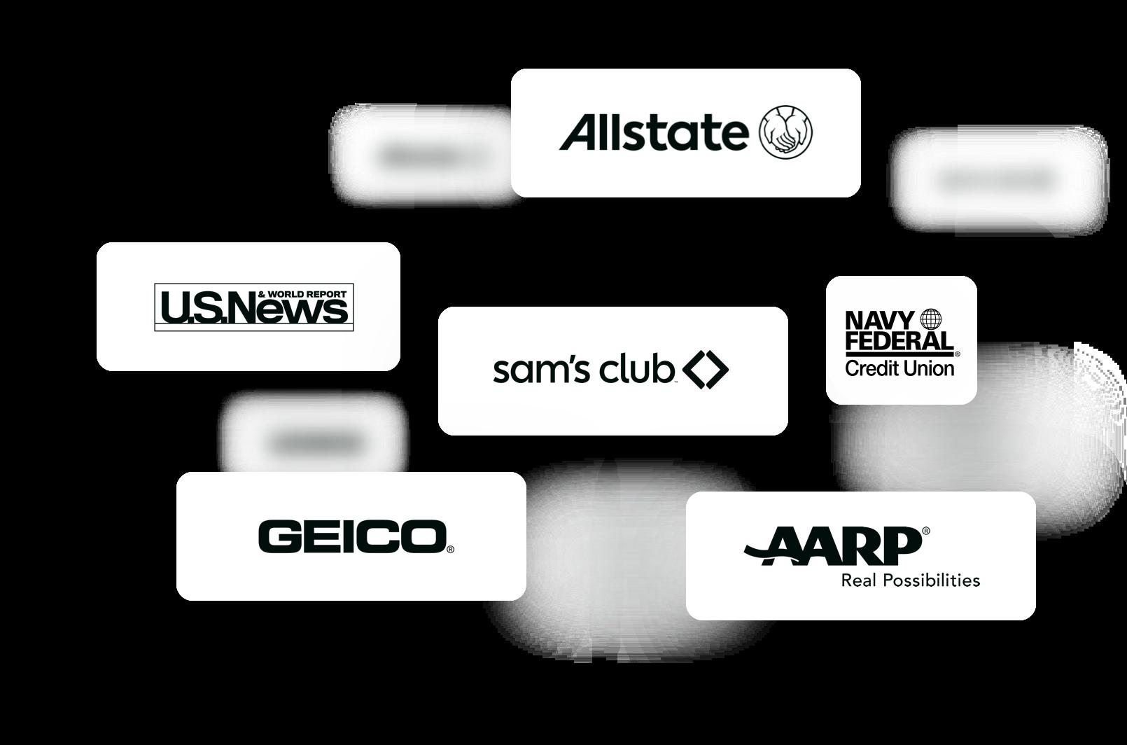 Floating Boxes of Affinity Partner Networks