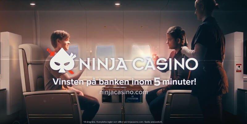 Ninja Casino i rättegång gällande spelreklam