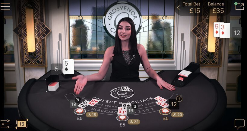 Testa NetEnts nya perfekta blackjackspel