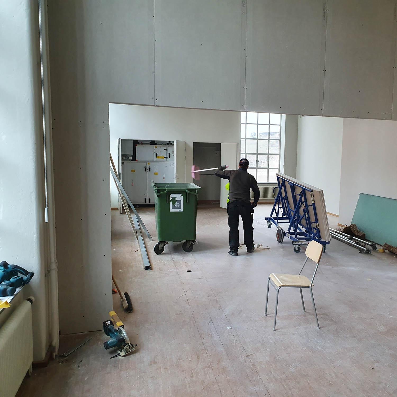 Byggprojekt inredning