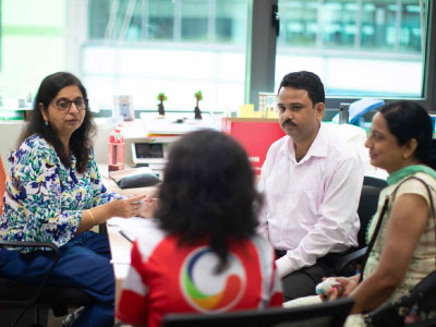 GIIS Teacher Counselling  Students and  Parent