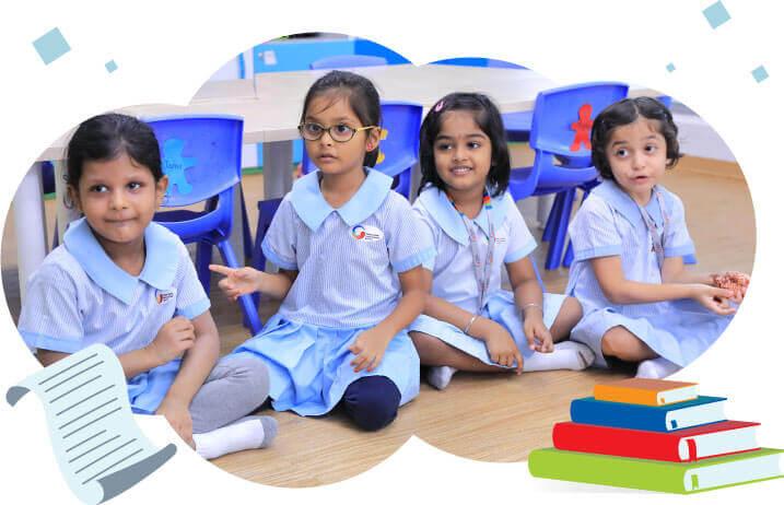 GIIS Singapore KG Students