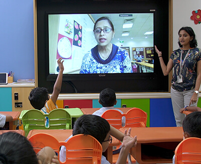 SMART Classrooms for Kindergarteners  at GIIS SMART CAMPUS