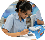 Secondary School Student Studying at GIIS