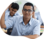 GIIS High School Student asking questions in Classroom