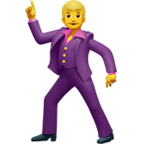 Dancing person emoji