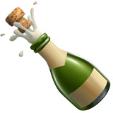 Champagne emoji