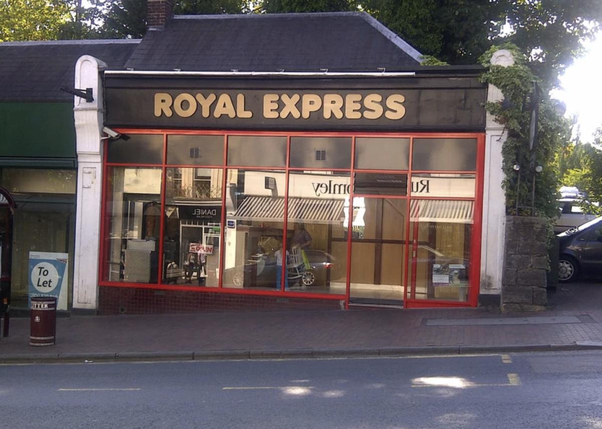 La comida del Royal Express