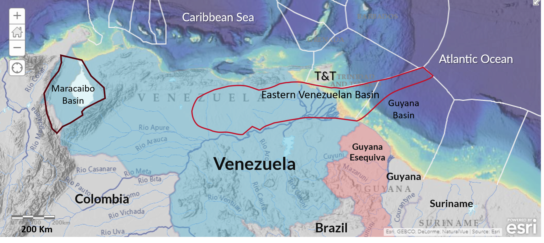 Resource Potential of Eastern Venezuelan and Maracaibo Basins
