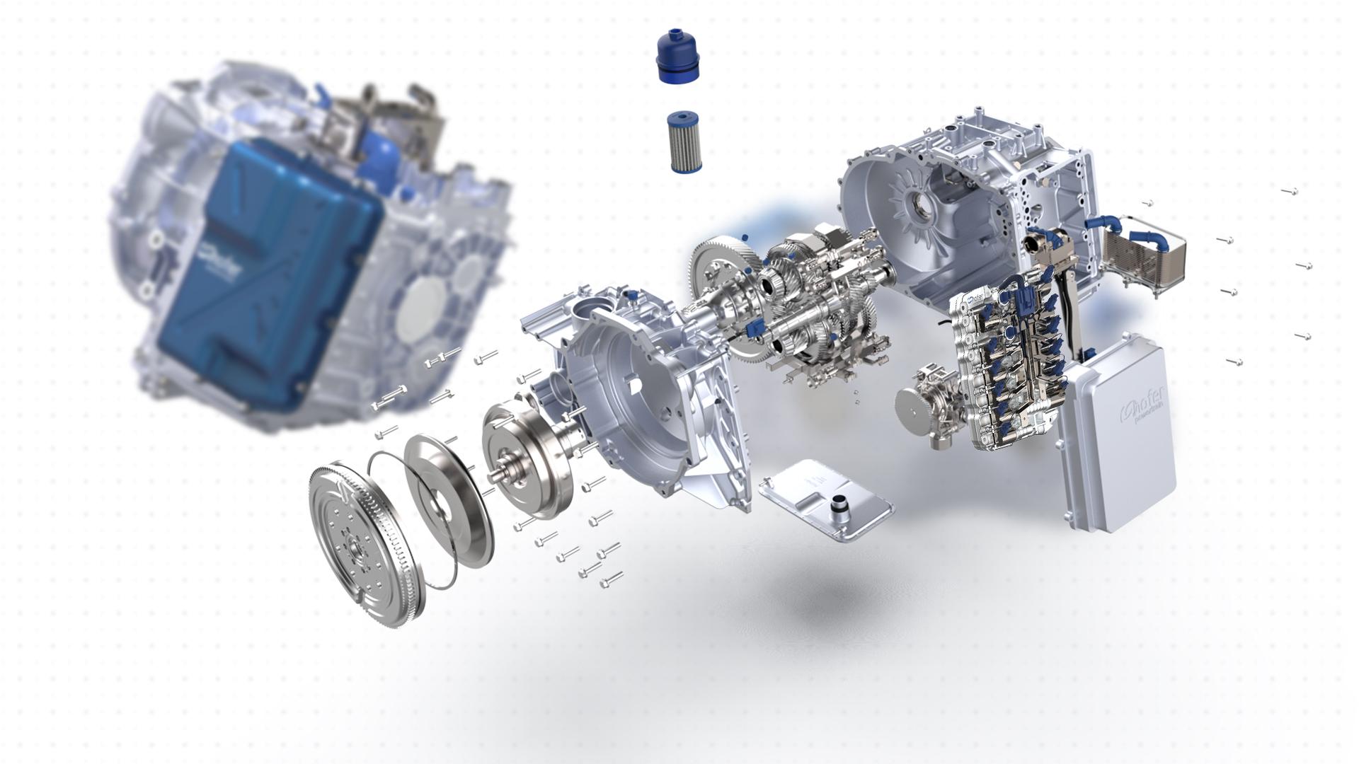 dual clutch transmission solutions by hofer powertrain, complete development, service, DCT
