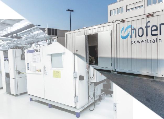 hofer powertrain battery testing