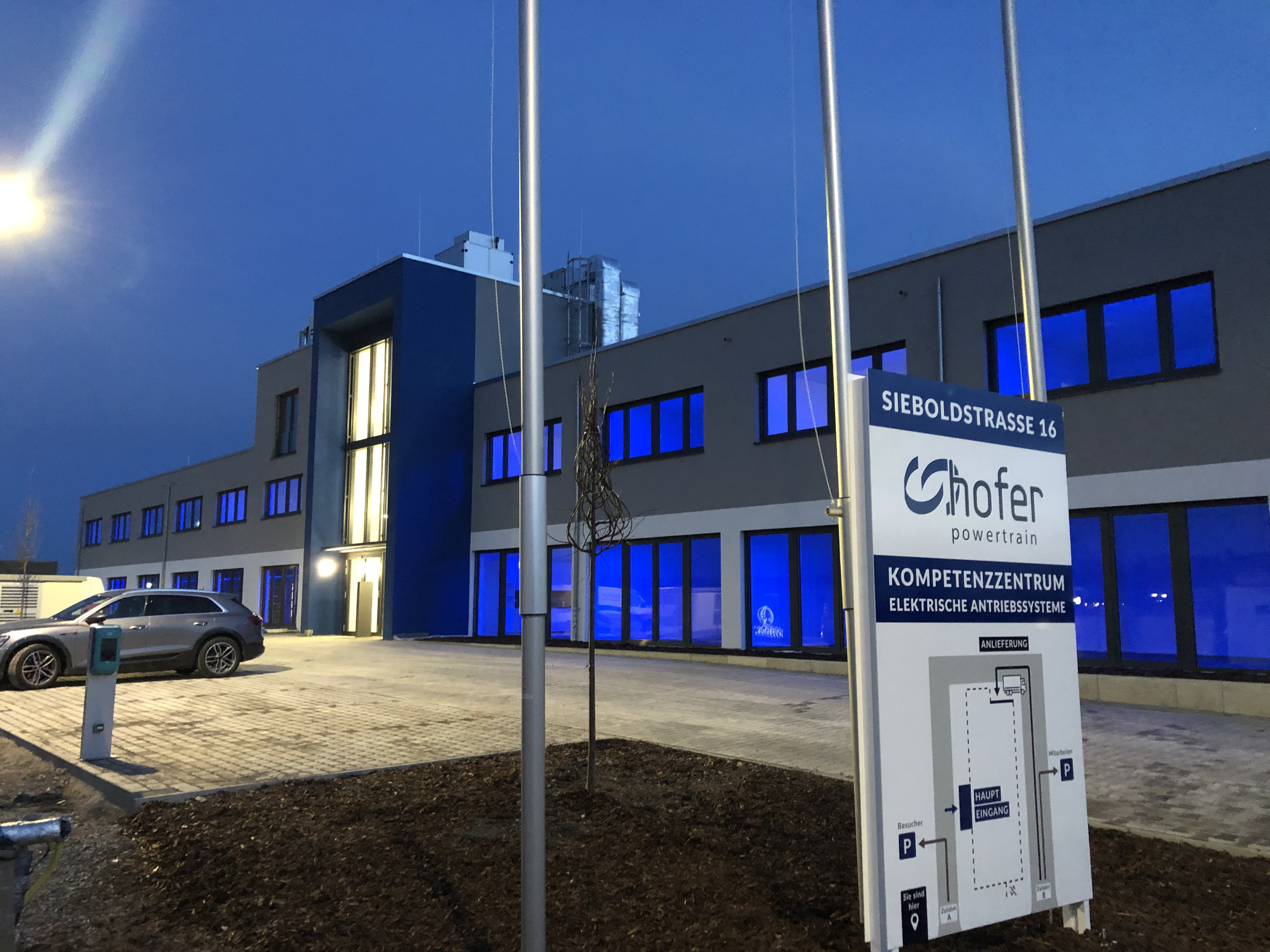 Our E-Mobility Competence Center within hofer powertrain moves into a new home in Estenfeld, near Würzburg / Bavaria