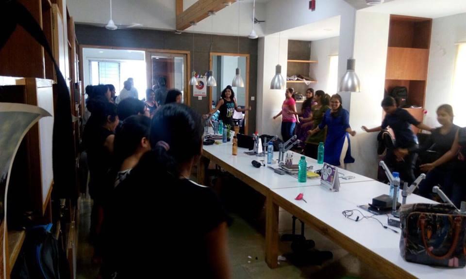 Zumba dance session on International Women's Day