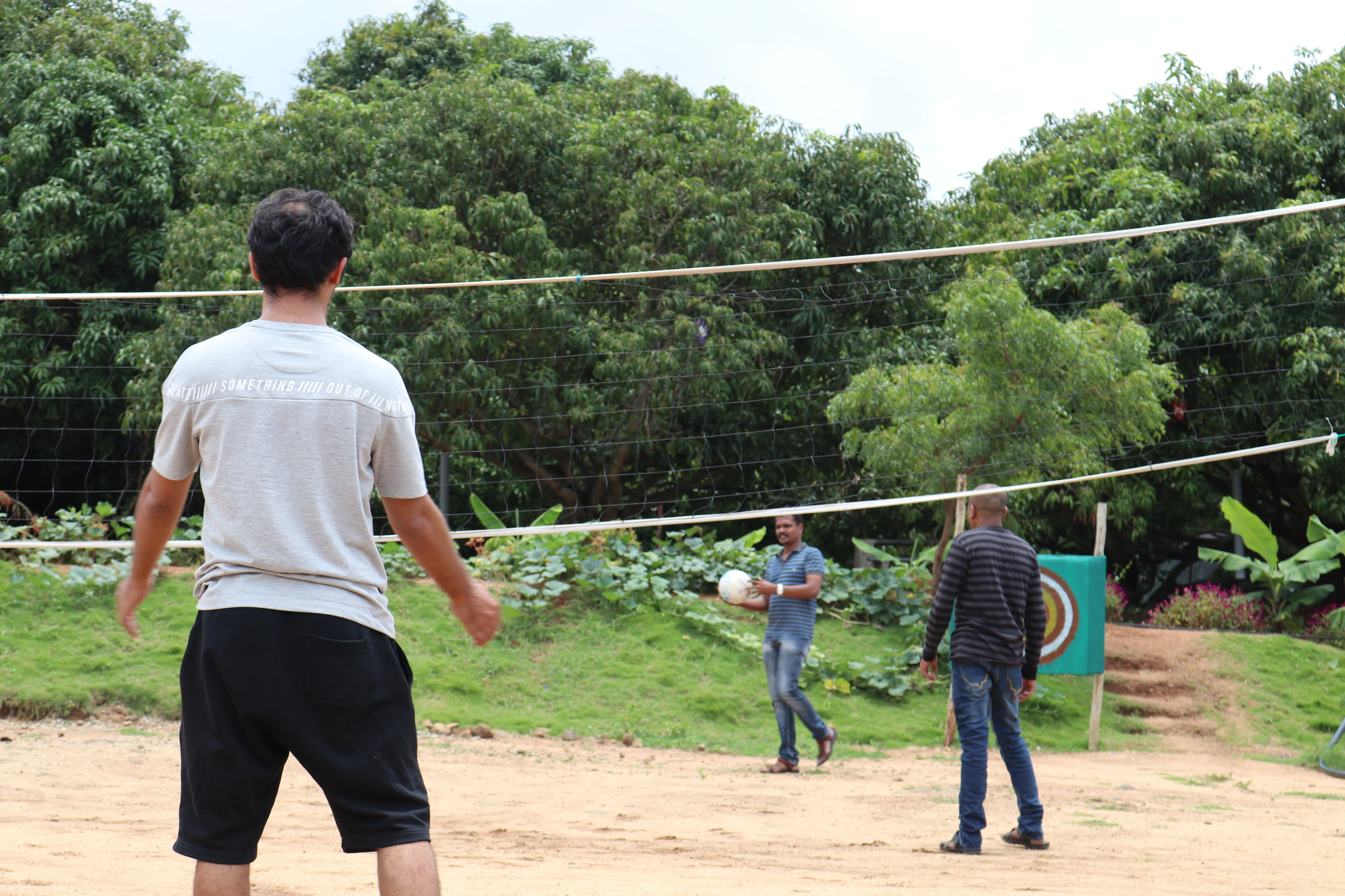 A game of VolleyBall