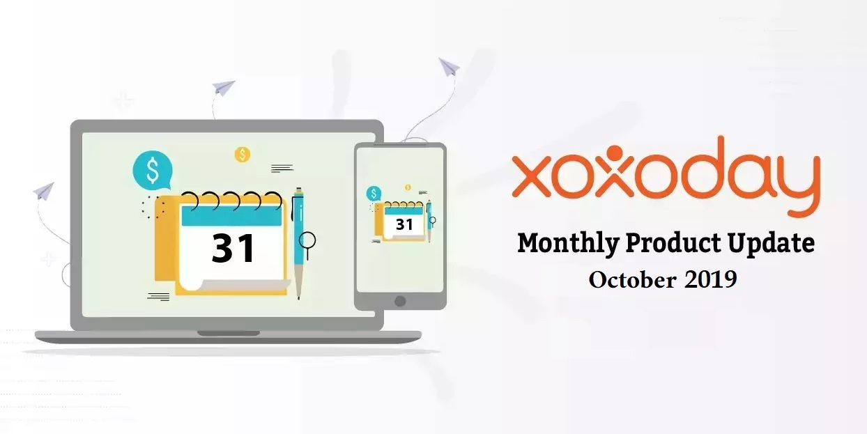 Monthly Product updates October 2019
