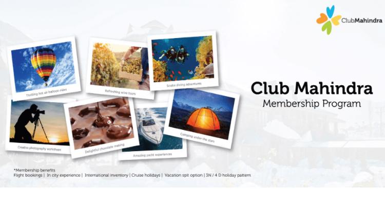 Club Mahindra Membership Program - loyalty program in india