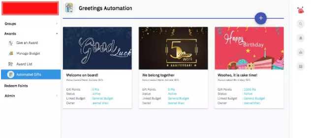 Automated Badges for employees