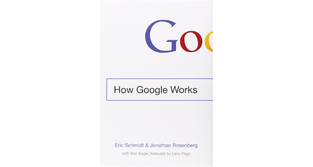 How Google Works: Best HR books