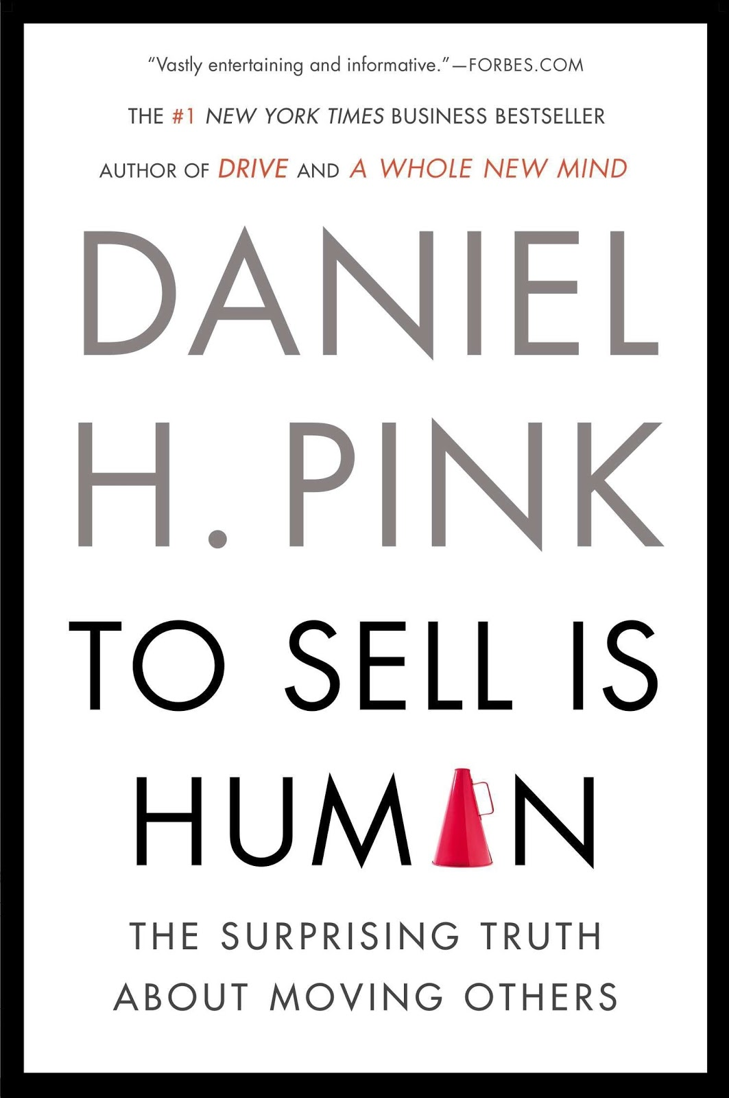 Front page of To Sell is Human