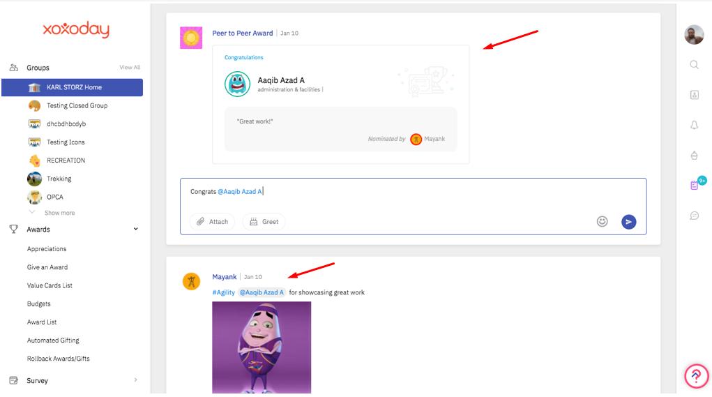 UI/UX improvements
