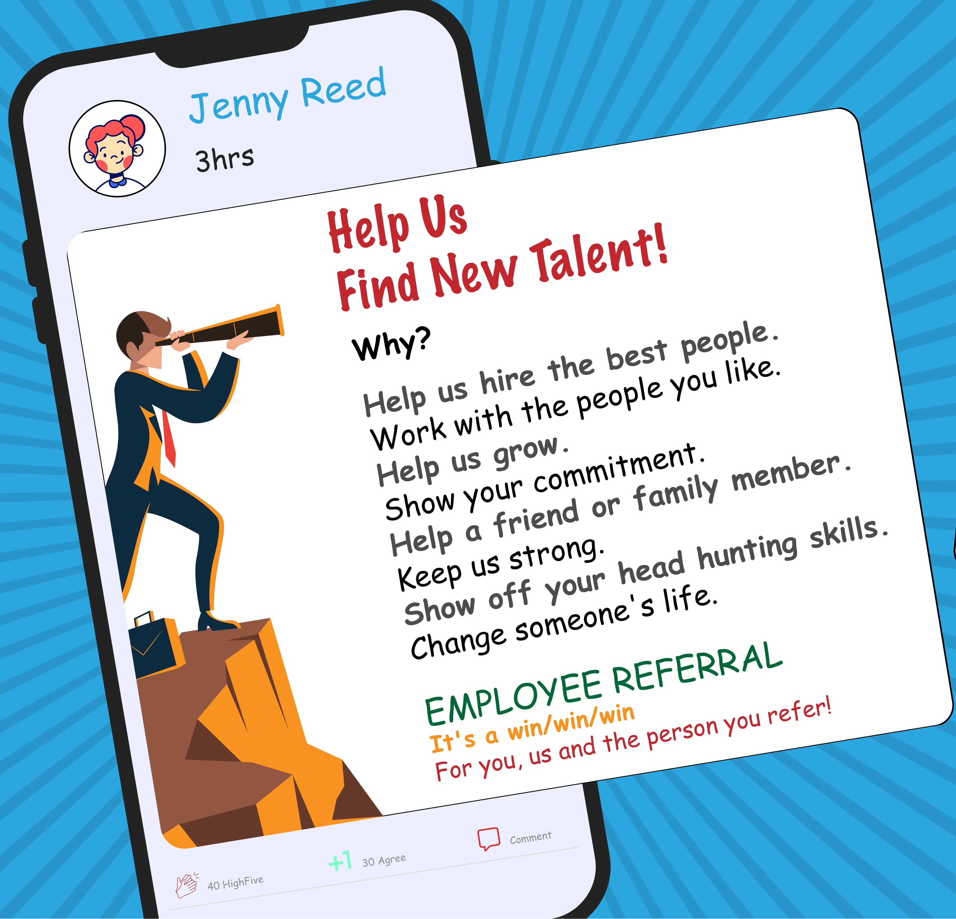 Employee referral