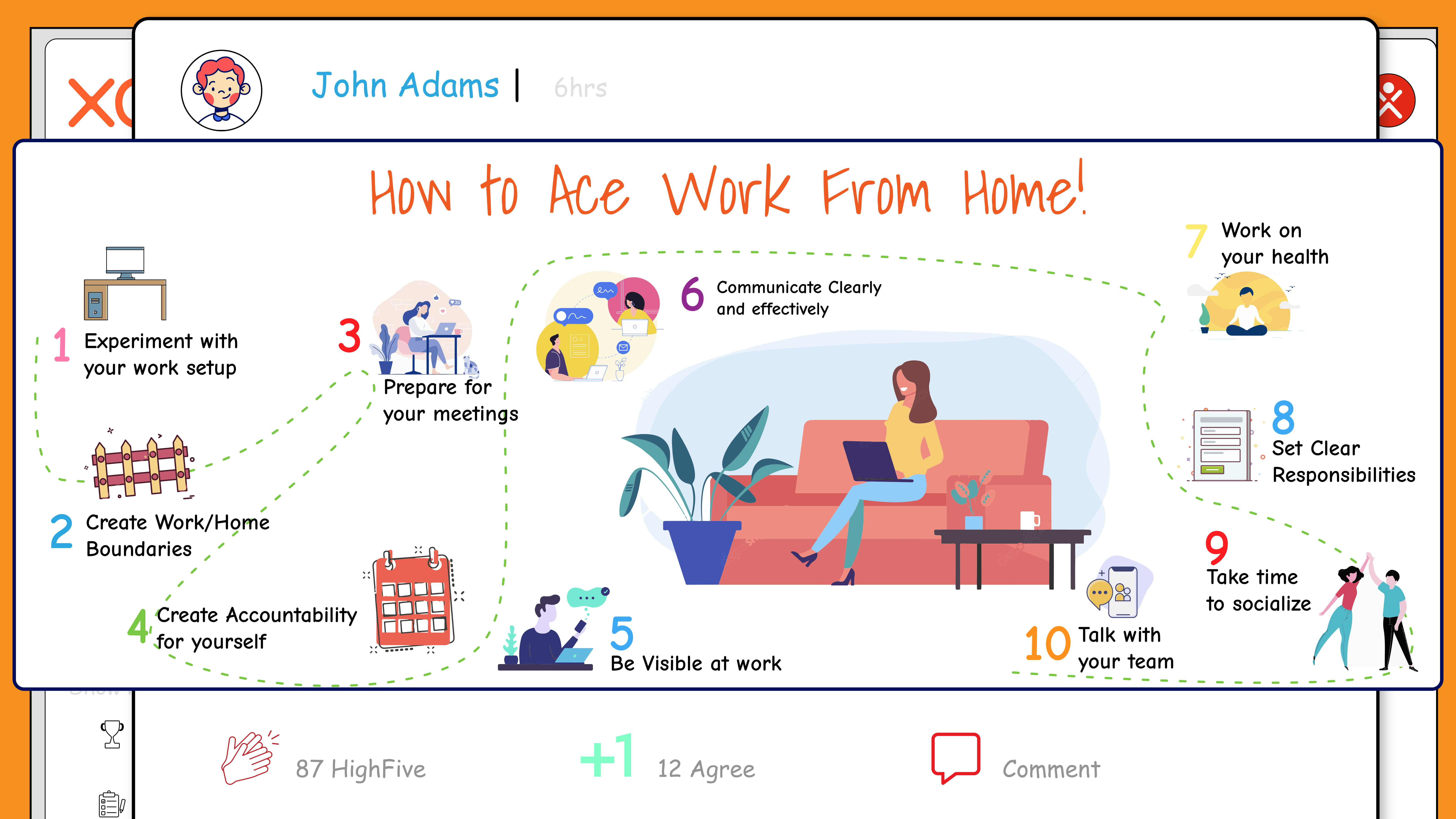 How to ace work from home