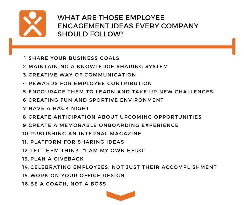 Employee Engagement Ideas Every Company Should Follow Xoxoday