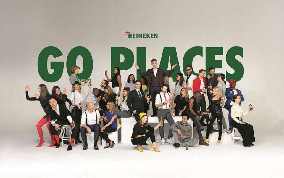 Heineiken's 'Go places' campaign