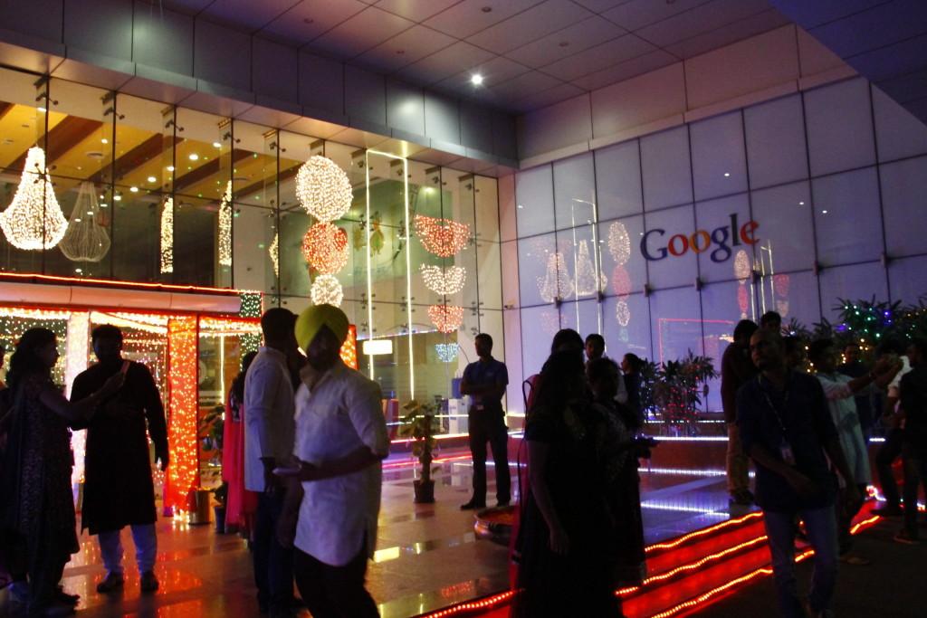 Diwali Celebration at Gurgaon Google Office