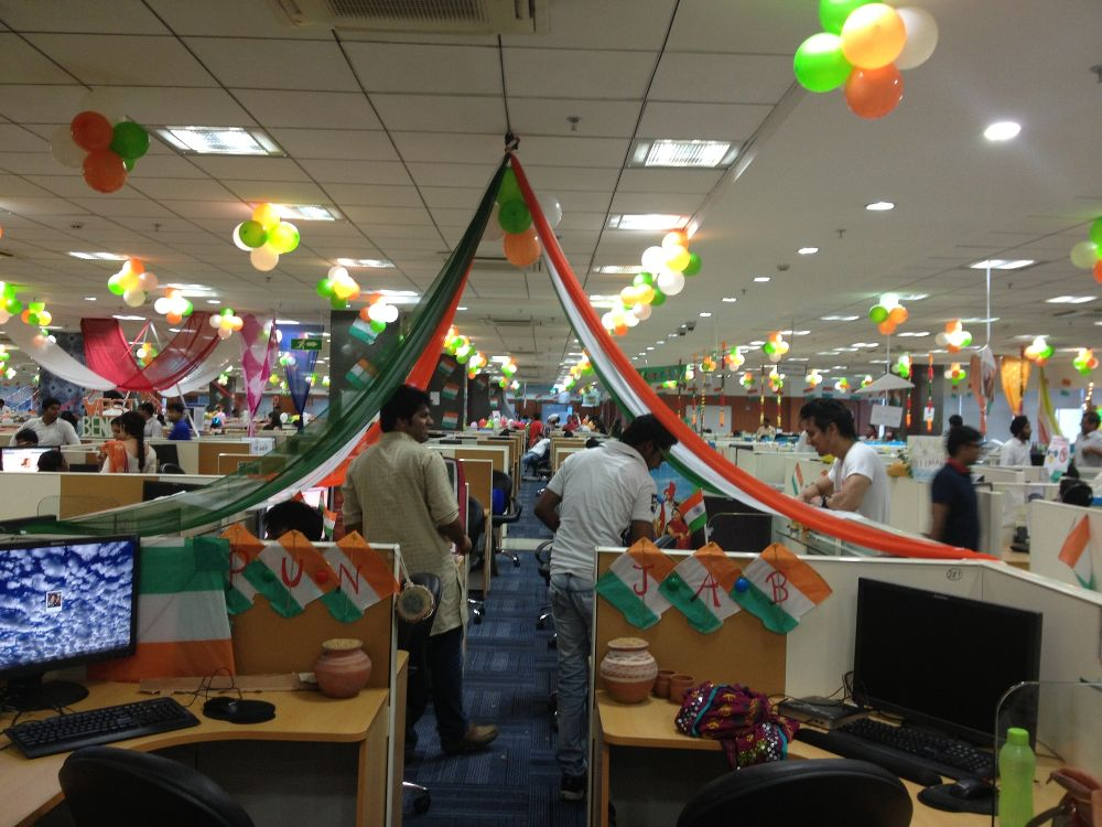 Independence day celebration at Gurgaon, India