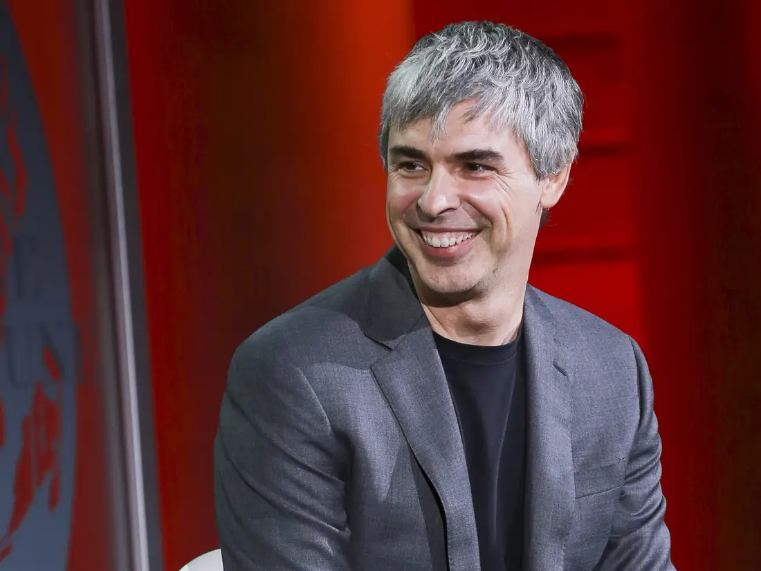 Larry Page, Google co-founder.