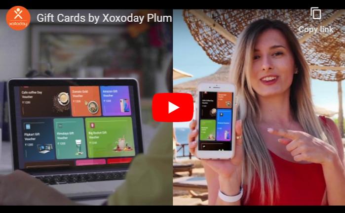 Watch Xoxoday Plum Gift Vouchers Video