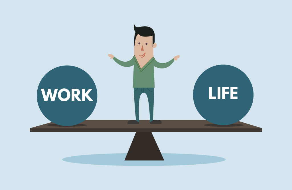 Offer flexibility between work and life