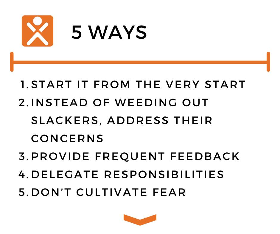 5 Ways to improve employee accountability