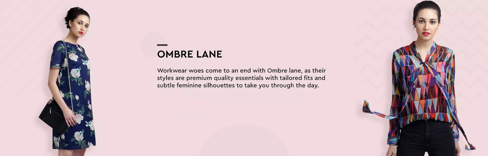 Ombre lane