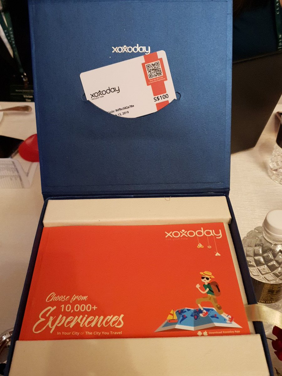 A Xoxoday experience box
