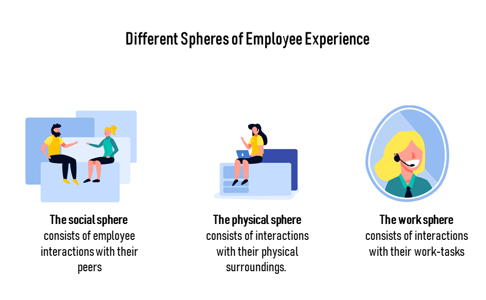 Different Spheres of Employee Experience