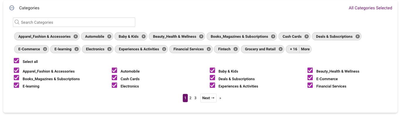 Xoxoday Plum Screenshot - UI for campaign creation