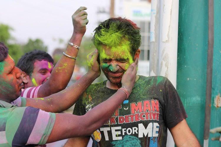 Colors Holi Celebration