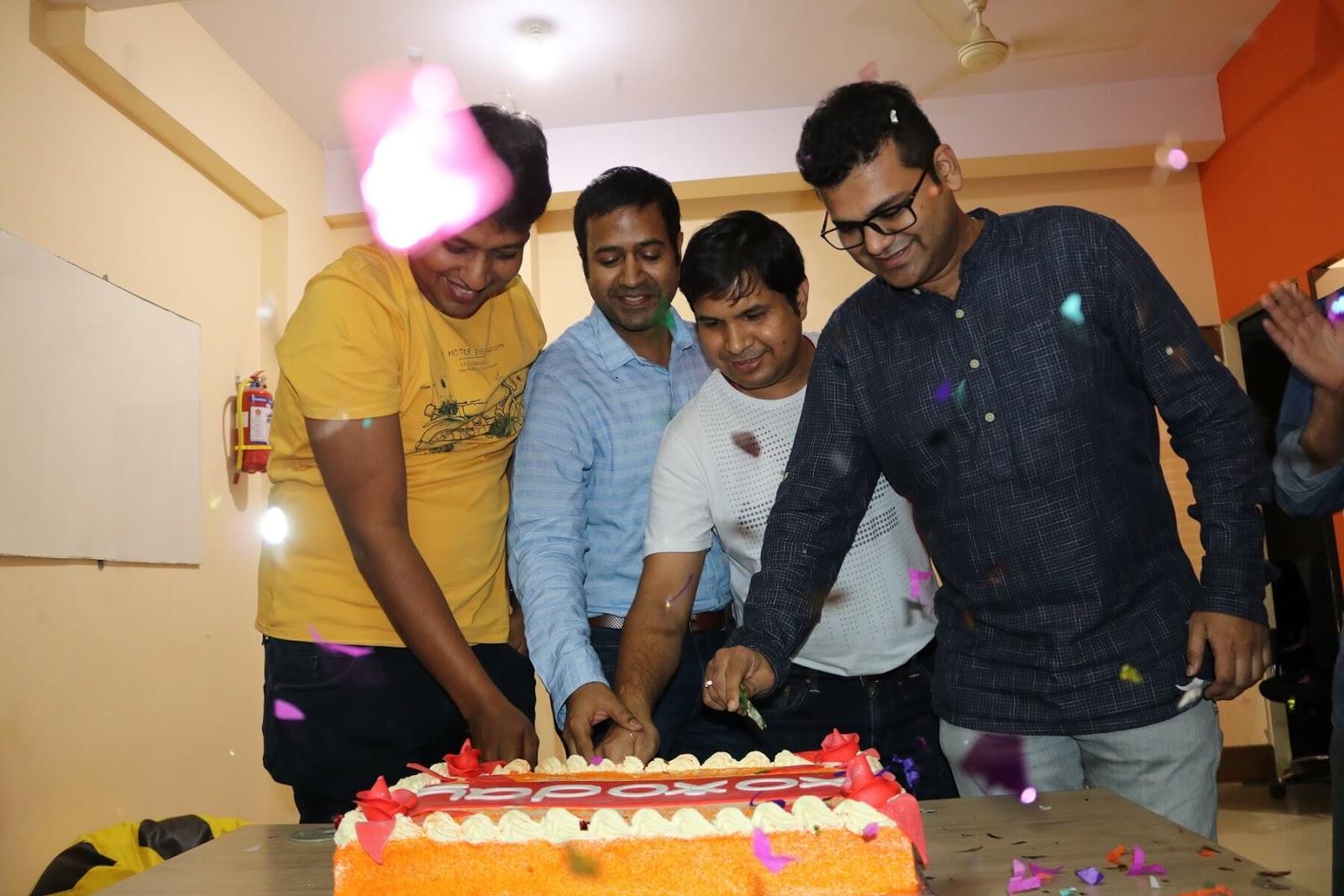 Champions of Xoxoday celebrating success