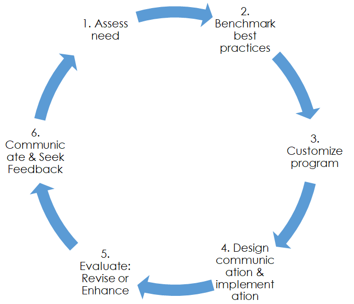 Fig 1. Luminous's HR policy creation process