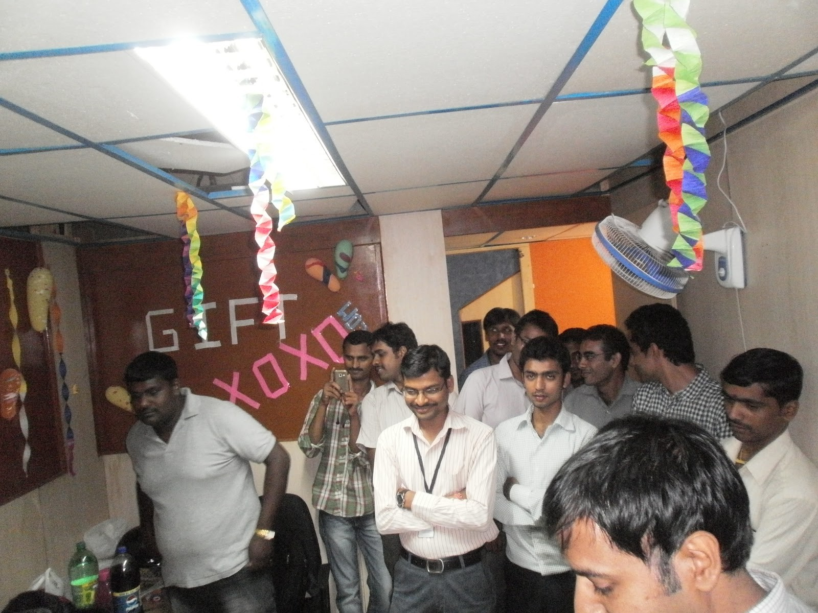 Small spaces and a tight knit team - a celebration at our first office